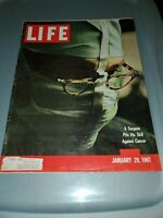 Life Magazine ,January 20,1961, A Surgeon Pits His Skill Against Cancer