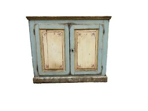 Italian Antique Painted Buffet Sideboard - 19th C