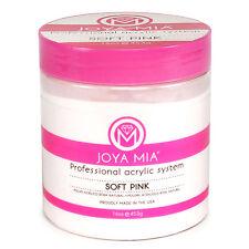 JOYA MIA Professional Soft Pink Acrylic Nail Powder 16 oz Made in the USA