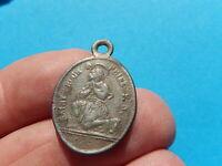 Médaille SACRE COEUR DE JESUS N saint ROCH  fili  Praebe cor tuum THFR