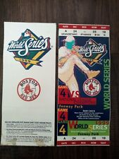 1999 Boston Red Sox Phantom World Series Ticket yankees Unused Ticket
