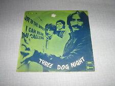 THREE DOG NIGHT 45 TOURS BELGIQUE JOY TO THE WORLD