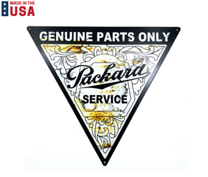 """Reproduction Genuine Parts Only Packard Service Metal Sign - (18-3/4"""" x 21-1/4"""")"""