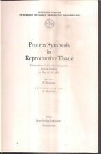 INDIA - PROTEIN SYNTHESIS IN REPRODUCTIVE TISSUE EDITOR E GICZFALUSF 1973