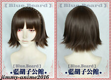 GAME Persona 5 Makoto Niijima Cosplay Wig With Hairnet Party Made Wedding New