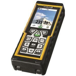 Stabila LD-520 Full Feature Laser Distance Measure 660'/200m Range 18 Func-06520
