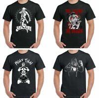Boxe T-Shirt Gorille Hommes Drôle Gym Mma Muay Thaï Kickers Entraînement