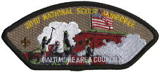 BALTIMORE AREA COUNCIL JAMBOREE 2010 PATCH BOY SCOUT 2017 STOCK UP 9.0