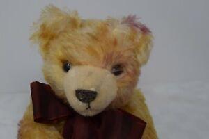 Hermann Artline Bear, Mohair, Makes Sounds, No. 1477A, Germany