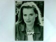Lüdke, Andrea: Signierte Autogrammkarte