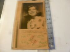 Vintage Wire Press Photo-Sargent Shriver File Photo Eunice Kennedy Shriver 1977