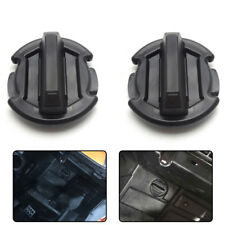 2PK Twist Floor Drain Plug Body for POLARIS RAZOR 1000 XP 4 2015 2016 2017 Black