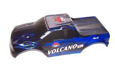 Redcat Volcano S30 4x4 Custom Painted Lexan Truck Body BLUE FLAMES