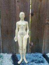 """Acupuncture Dummy Rubber Doll Medical Model 18"""""""