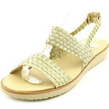 Sandalias y chanclas de mujer de tacón bajo (menos de 2,5 cm) de lona talla 37