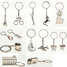 Creative Metal Keychain  Key Ring Key Chain Key 12 Pattern Choose Decor EBTY