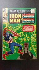 MARVEL TALES OF SUSPENSE COMIC #82 (OCTOBER 1966) IRON MAN AND CAPTAIN AMERICA