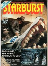 WoW! Starburst #37 Raiders Of The Lost Ark! Outland! Fear No Evil! The Howling!