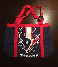 Houston Texans NFL Football Bag. Red/Navy/White. Tote Shopping Book. NEW w/tag.