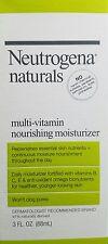 Neutrogena Naturals Multi-Vitamin Nourishing Facial Moisturizer 3 Fl. OZ. Ea