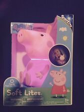 Fully Licensed PEPPA PIG  Soft Lite Night Light w/ Auto Shutoff**FREE SHIP**