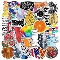 40PCS INS Mixed Skateboard Stickers bomb Vinyl Laptop Luggage Decals Sticker Set