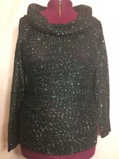 New Without Tags No Boundaries XL 15-17 Sequin Off-The-Shoulder Sweater Y21