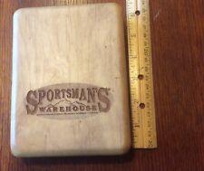 Sportsman's Warehouse Wooden Fly Box