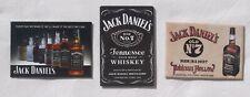 Jack Daniels Kühlschrank Magnete original aus USA 3 Stück als Set