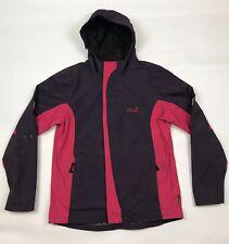 JACK WOLFSKIN Texapore 4x4 Girls Coat Purple & Pink Nylon Hooded 176 Large Youth