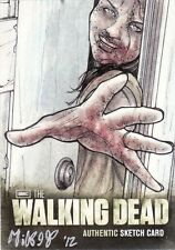 Walking Dead Season 2 Rare Mikey Babinski sketch Card