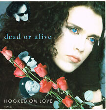 DEAD OR ALIVE hooked on love U.K. EPIC 45rpm burns-2_1987 NEAR MINT