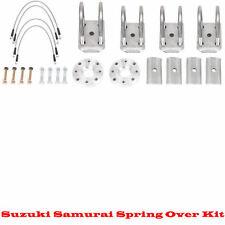 Trail Gear Suzuki Samurai Spring Over Axle Conversion Kit {TG111253-3-KIT}