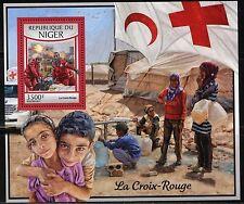 NIGER 2017  THE RED CROSS   SOUVENIR SHEET MINT NH