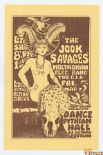 Pythian Hall Handbill 1966 Mar 3 Jook Savages The CIA
