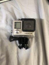 Go pro hero 4 silver HD camera + 64 gb sd card + accessories