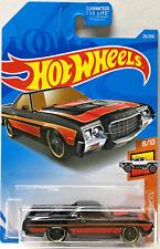 Hot Wheels 2019 HW Hot Trucks '72 FORD RANCHERO (Black/Red) #29