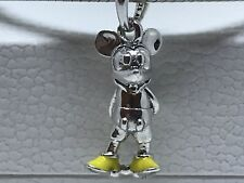 Authentic Pandora New Disney Classic Mickey Pendant Yellow Enamel 397394EN06