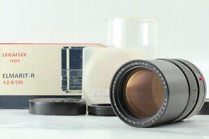 """Near Mint in Box"" Leica Leitz Elmarit-R 135mm f/2.8 3 Cam Lens JAPAN #1688"