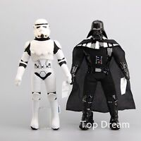 2X Star Wars Stormtrooper & Darth Vader Plush  Doll Soft Stuffed Toy 18'' Figure