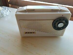 Kent Japanese tube Portable  / Radio In Ivory