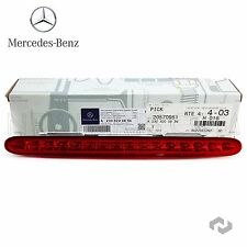Genuine Mercedes Benz Third 3rd Additional Brake Light Stop Assembly SL R230 NEW