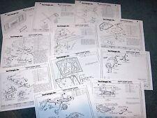 1984 84 1983 83 HURST OLDS OLDSMOBILE SCOOP SPOILER INSTRUCTION