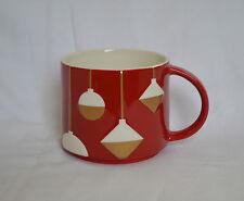 Starbucks Collectible Coffee Mug Christmas 2012 - NWT - Red Holiday Ornament