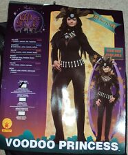 After Dark Rubies Halloween Costume Sexy Voodoo Princess Size XS 2-6