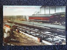Early 1900's The Ensley Steel Plant Loading Docks in Birmingham, Al Alabama PC