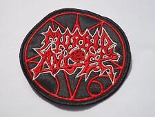 MORBID ANGEL CIRCULAR LOGO DEATH METAL EMBROIDERED PATCH