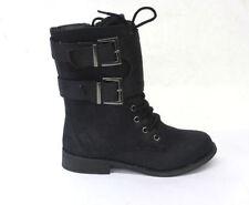 Chaussures noires avec zip pour fille de 2 à 16 ans pointure 34