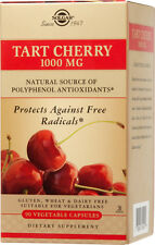 Solgar Tart Cherry 1000mg 90 Vegetable Capsules