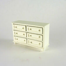 Dollhouse Miniature HALF Scale 1:24 White Large Dresser, 214.5
